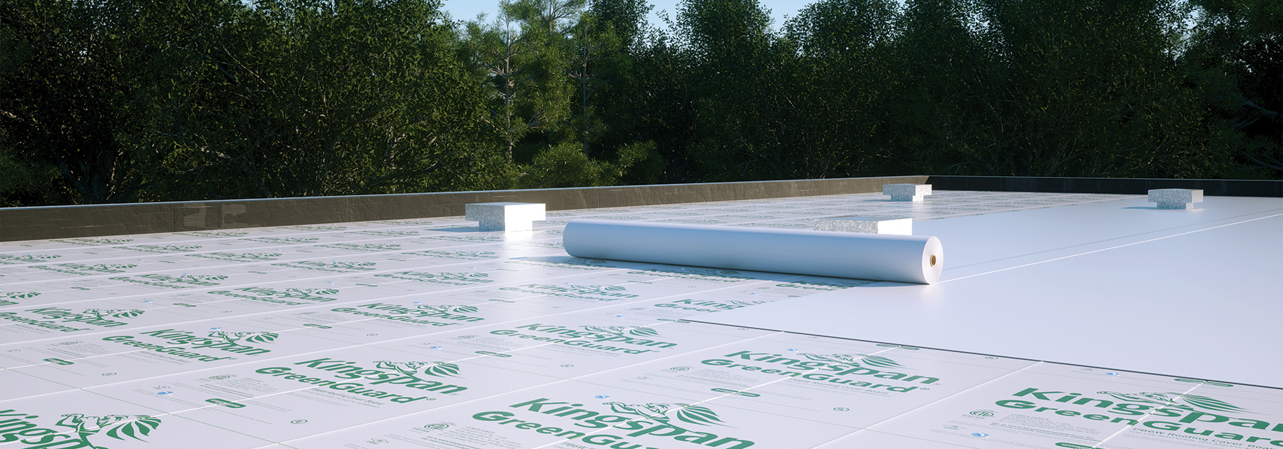 GreenGuard Roofing Cover Board PB6 US