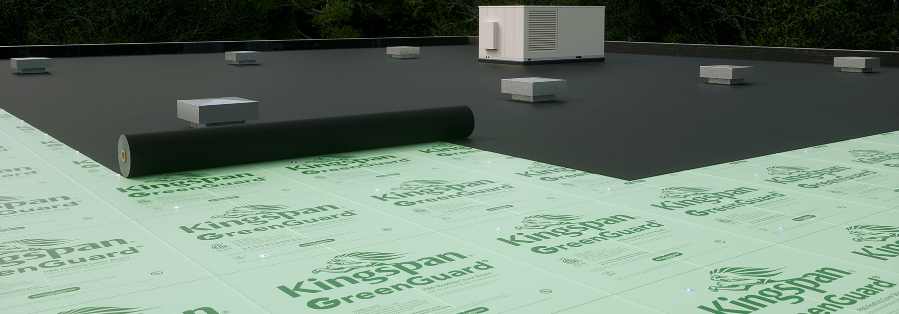 GreenGuard Roofing Cover Board