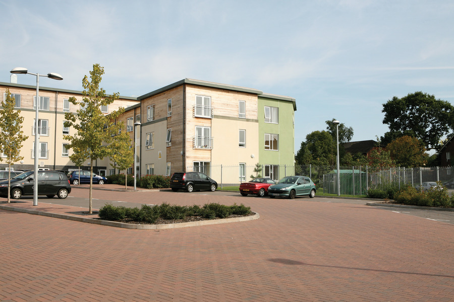 Kingspan Structural Steel Solutions Project - MEADWAY EXTRA CARE UK Image