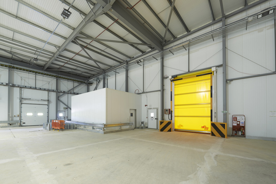Kingspan Insulated Panel Systems Controlled Environment Cold Store ALDI GOLDTHORPE UK Image