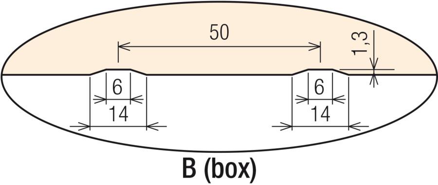 B (box) vnútorný