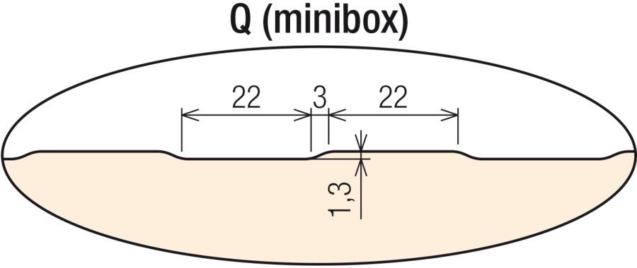Q (minibox) vonkajší