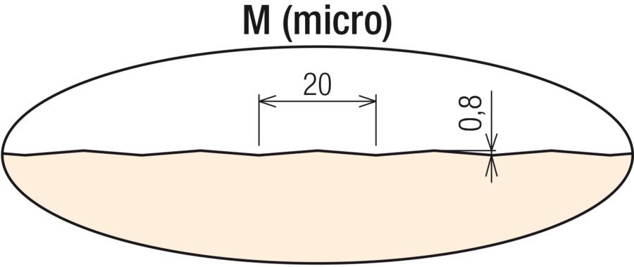 M (micro) vonkajší