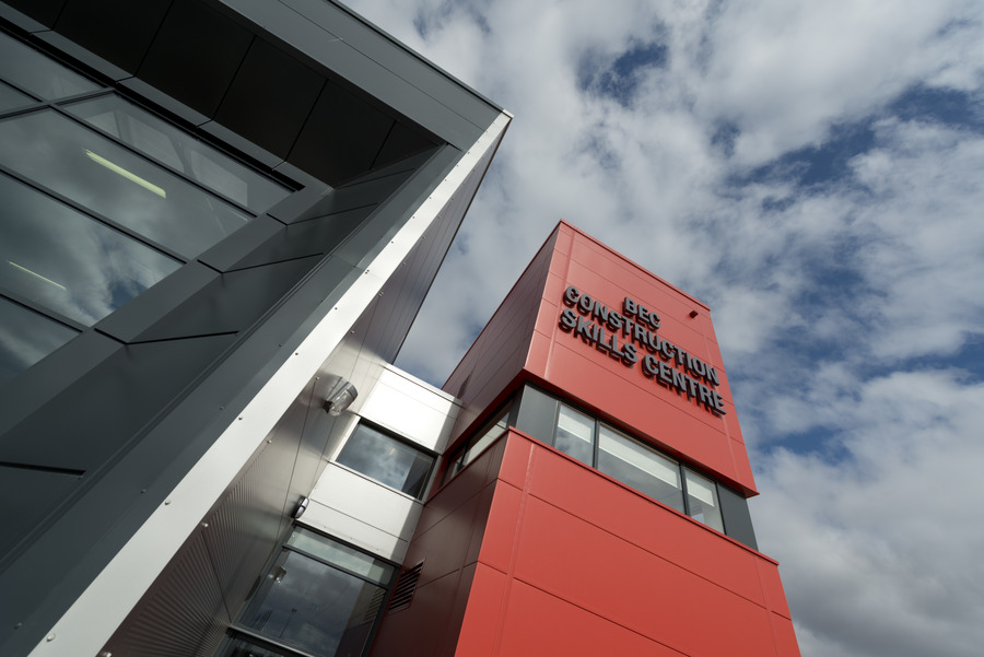 Kingspan Insulated Panel Systems Architectural Wall Flat ENERGY COAST CONSTRUCTION SKILLS CENTRE WORKINGTON UK Image