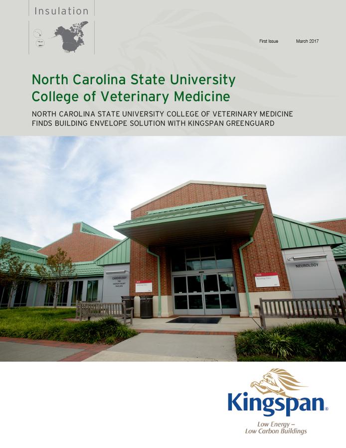 North Carolina State University College of Veterinary Medicine - Case Study