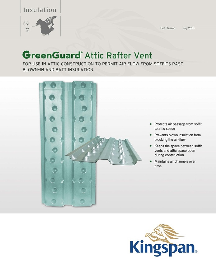 GreenGuard Attic Rafter Vent_Product Sheet_US_CA_IMG