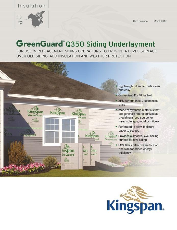 GreenGuard Q350 Siding Underlayment_Product Sheet_US_CA_1704_IMG