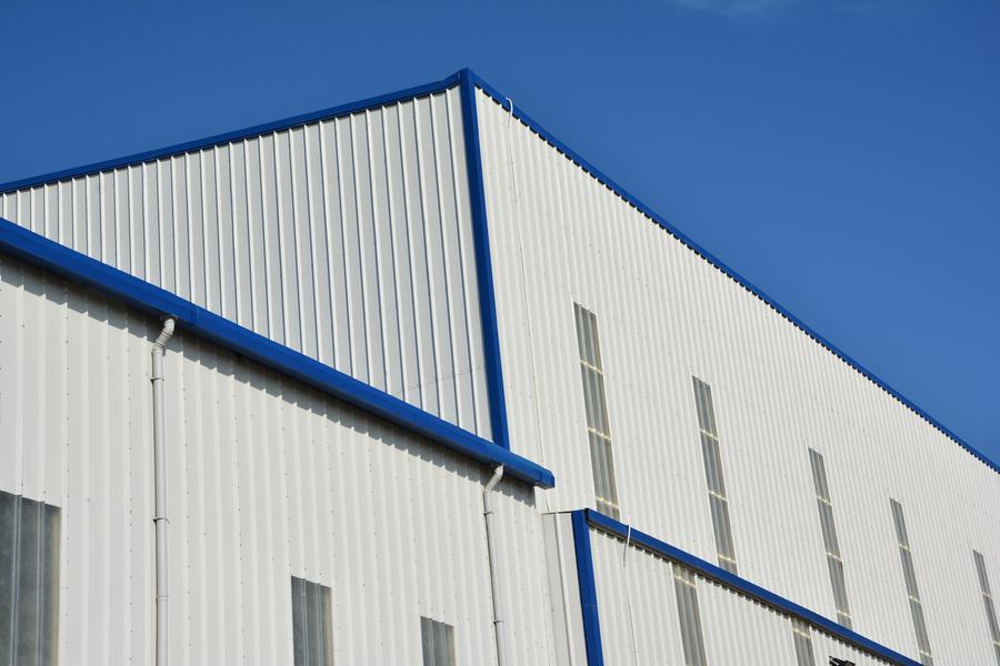 Trapezoidal Wall Panel System