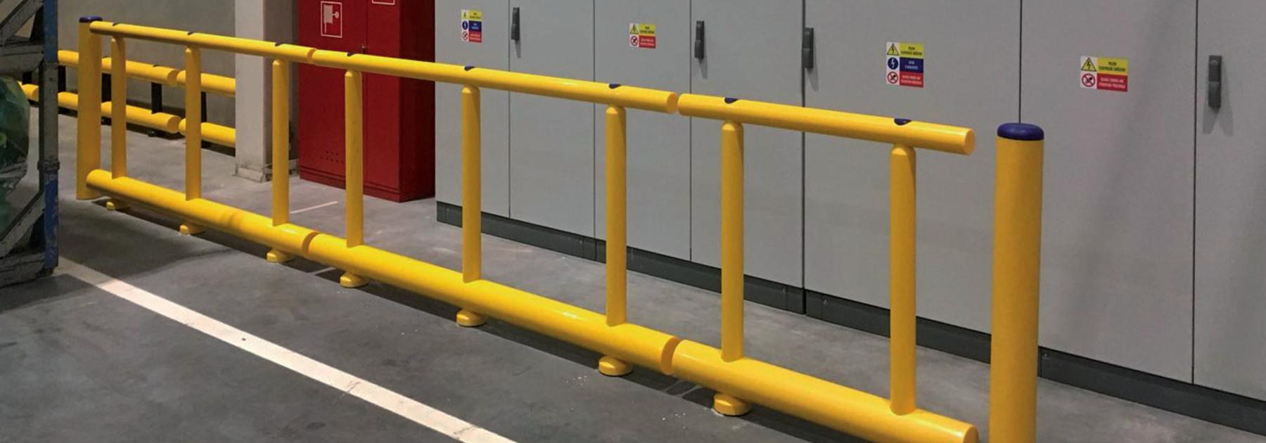 Pedestrian Guard Rails