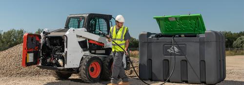 FuelMaster® 2 300 L lösningar för kompakt lagring och distribution av diesel