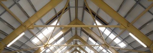 Kingspan Insulated Panel Systems Trapezoidal Daylite DALMUNACH DISTILLERY CARRON UK Image