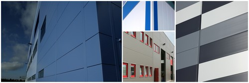 Insulated Metal Panels - Collage Image
