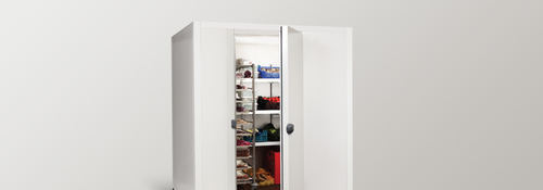 Chambre froide Modular d'isomasters