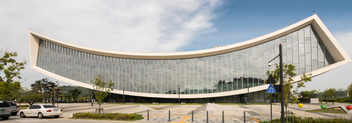 Front of Sejong Library