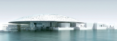 Kingspan products have been installed into Jean Nouvel's  Louvre Abu Dhabi