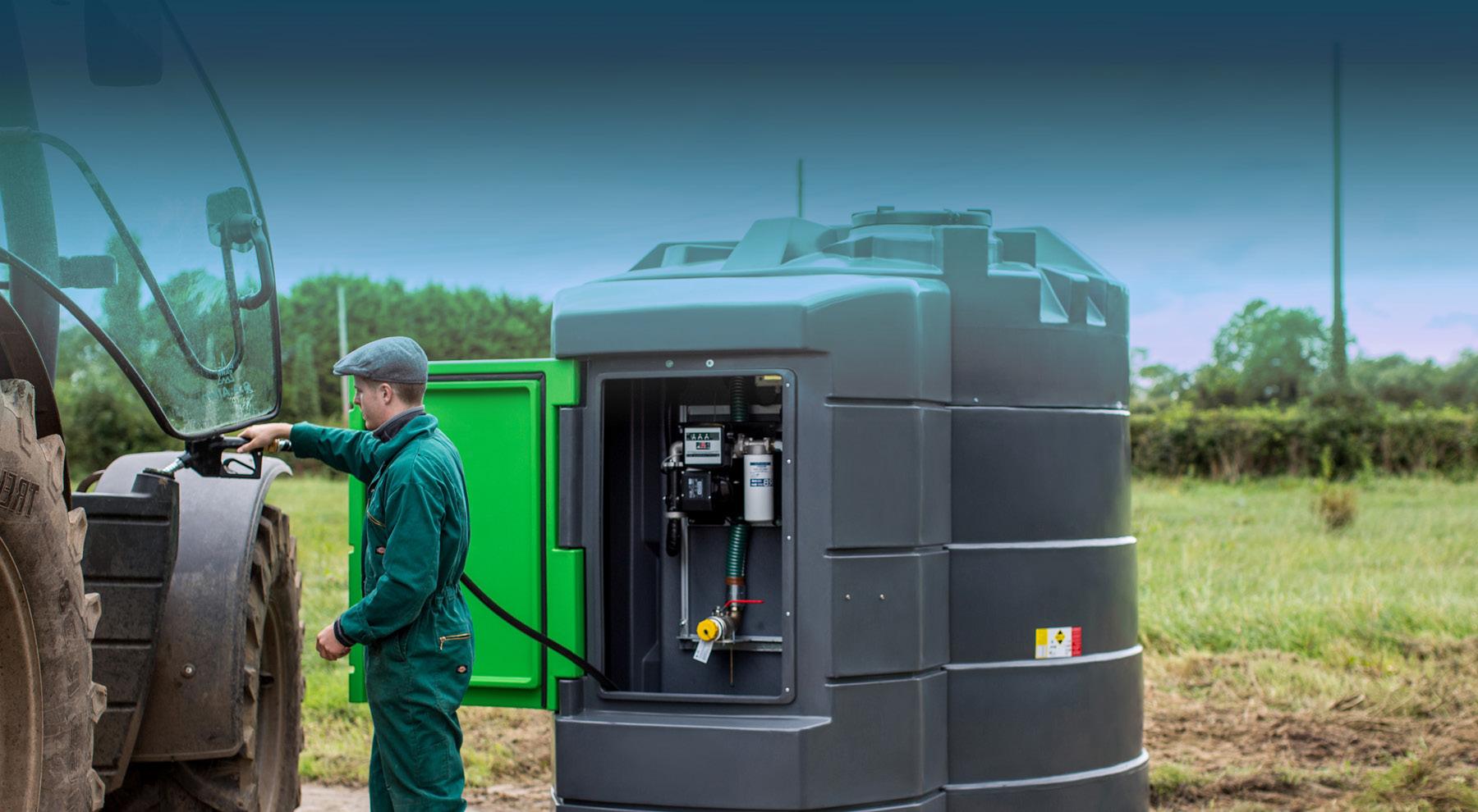 Depósitos de Diesel, AdBlue e Fertilizantes
