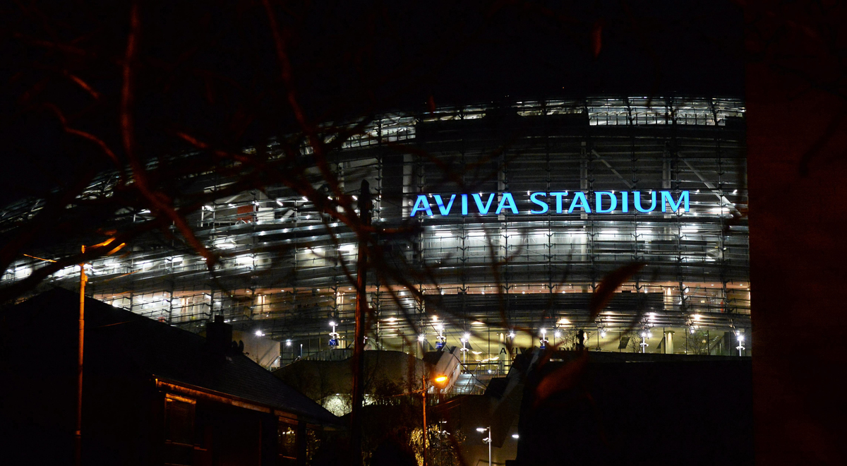 Aviva Stadium up close