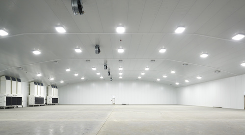 Kingspan Controlled Environments Project - NAGEL LANGDONS DISTRIBUTION CENTRE MOTHERWELL UK Image