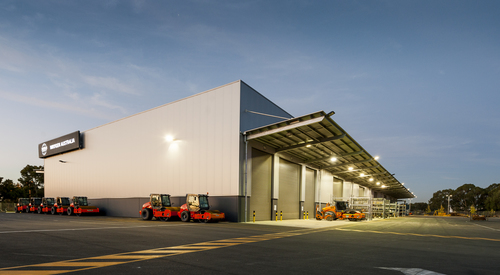Kingspan Controlled Environments Project - WIRTGEN AU Image