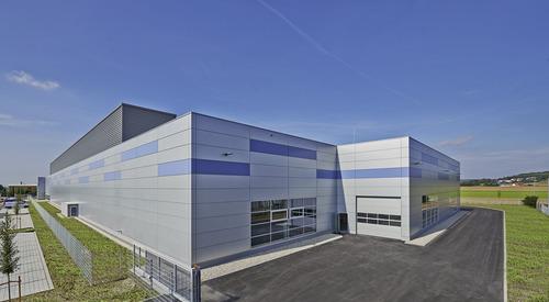 Ingolstadt, Germany, Designwall Matrix, Modular Facade Systems