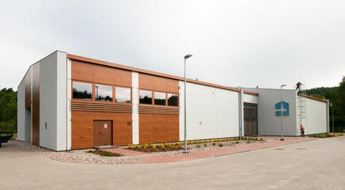 Wejherowo, Poland, Karrier System, Rainscreen facade, Suspended Ventilated Facade, KS1000 AWP
