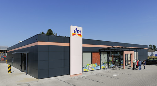 Korschenbroich, Germany, Karrier System, Rainscreen facade, Suspended Ventilated Facade