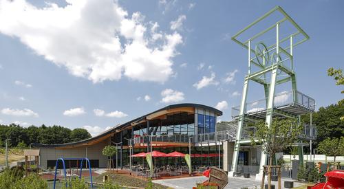 Bochum, Germany, Karrier System, Rainscreen facade, Suspended Ventilated Facade