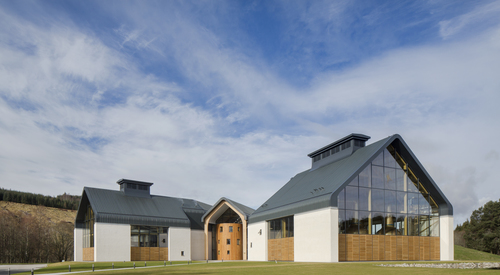 Kingspan Insulated Panel Systems DALMUNACH DISTILLERY UK Image