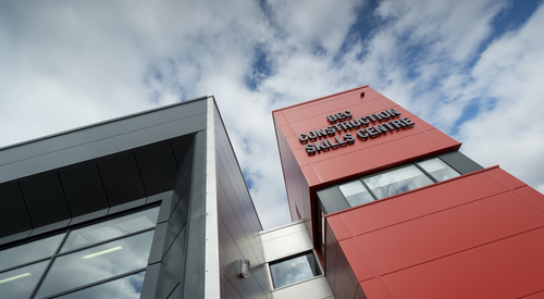 Kingspan Insulated Panel Systems Project BEC CONSTRUCTION SKILLS CENTRE WORKINGTON UK Image