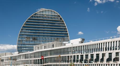 KAF_BBVA Bank HQ_Madrid_Spain_Exterior_Sunny_Day_Case Study_UK_2