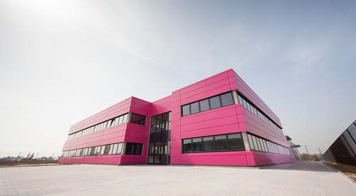 Rülzheim, Germany, Designwall Matrix, Modular Facade System