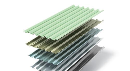 Int Product Single Skin Roof Profiles fan