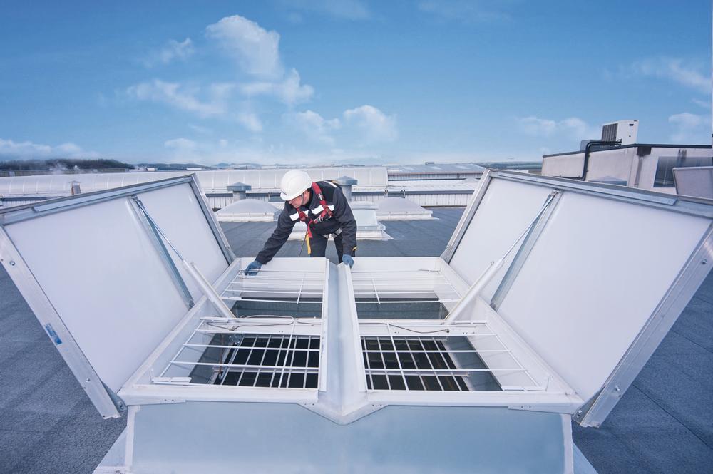 Kingspan Smoke Ventilation Service & Maintenance