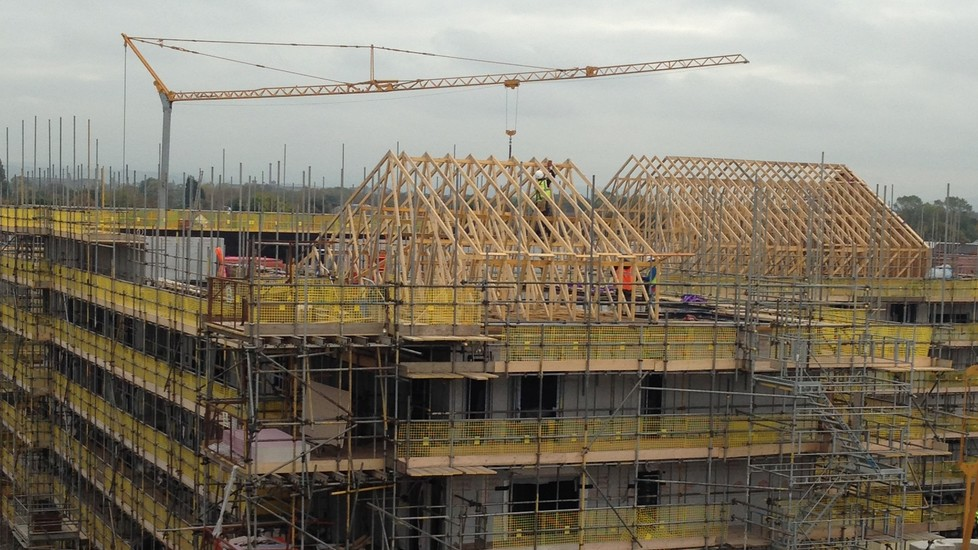 Kingspan Structural Steel Solutions Project - FALLOWFIELD STUDENT ACCOMMODATION MANCHESTER UK Image