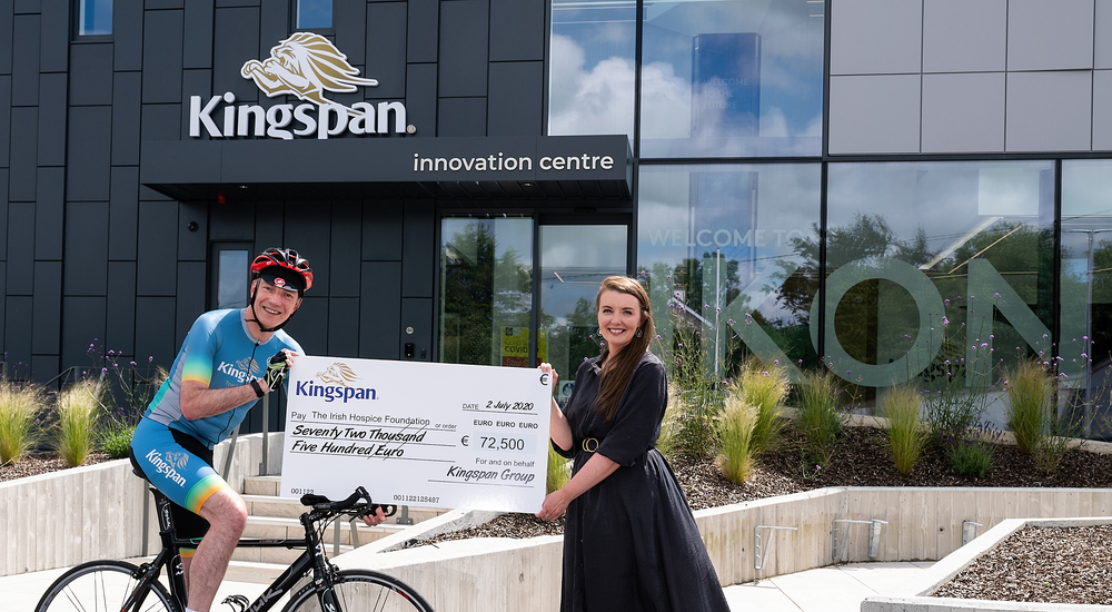 Irish Hospice Foundation's cycle sponsorship