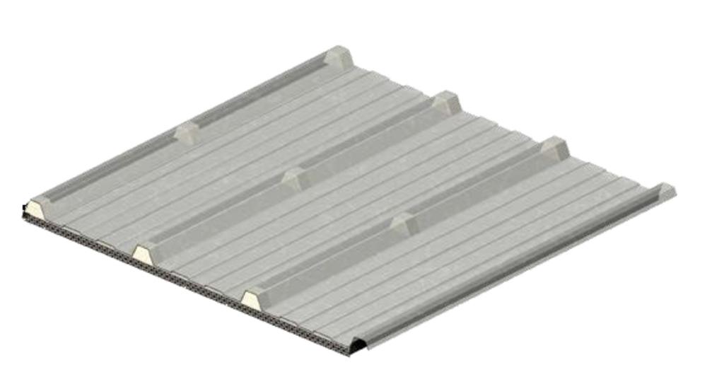 KS1000 HTL, prosvětlovací panely, střešní panely, denní světlo