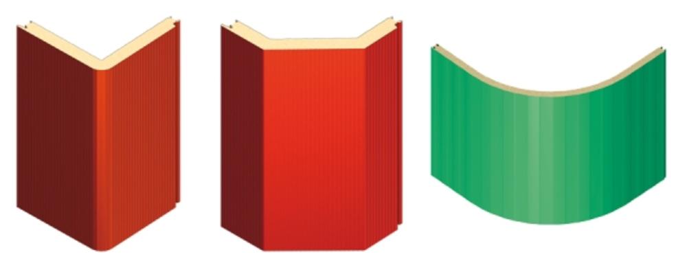 rohové panely Kingspan, prefabrikované rohové panely