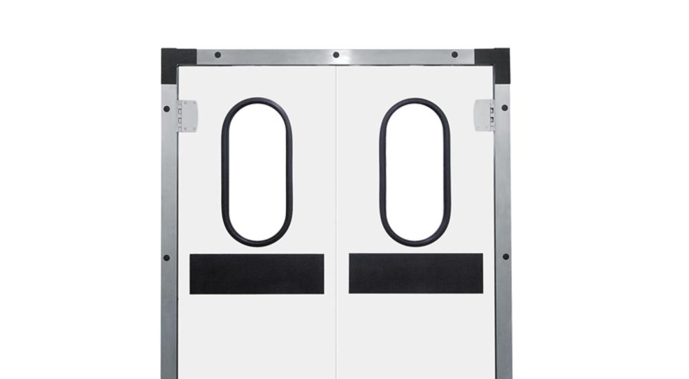 Servisné kývne dvere, dvere Kingspan