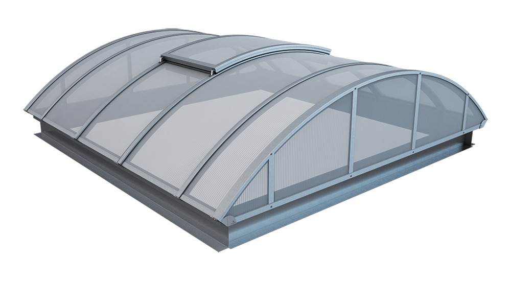Kingspan Arcade Continous Vented Rooflight