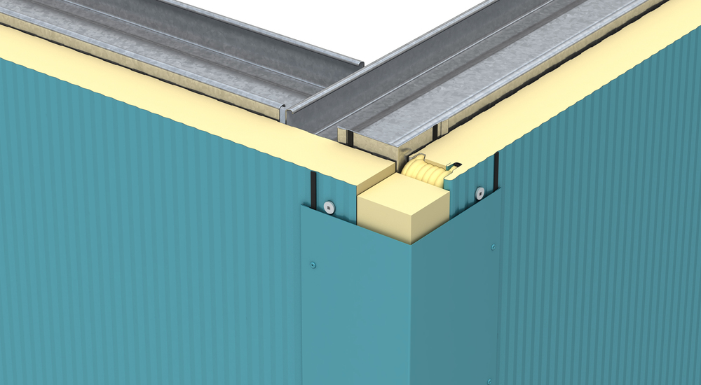 Kingspan Insulated Panel Systems Vertical Corner Flashing Image