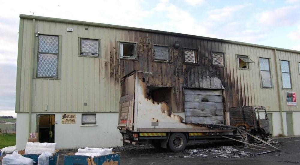 Kingspan Insulated Panel Systems Fire Image