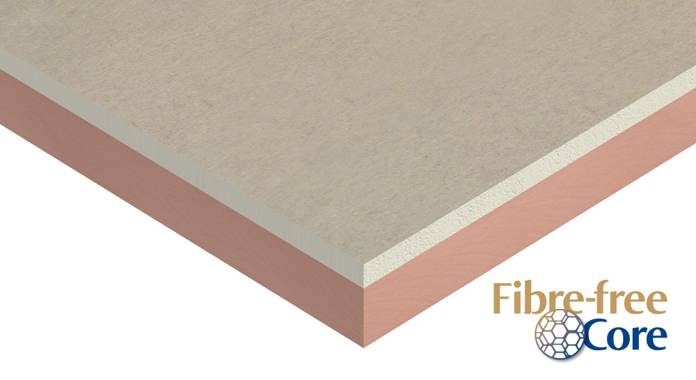 Kooltherm K17 Insulated Plasterboard Product Wedge