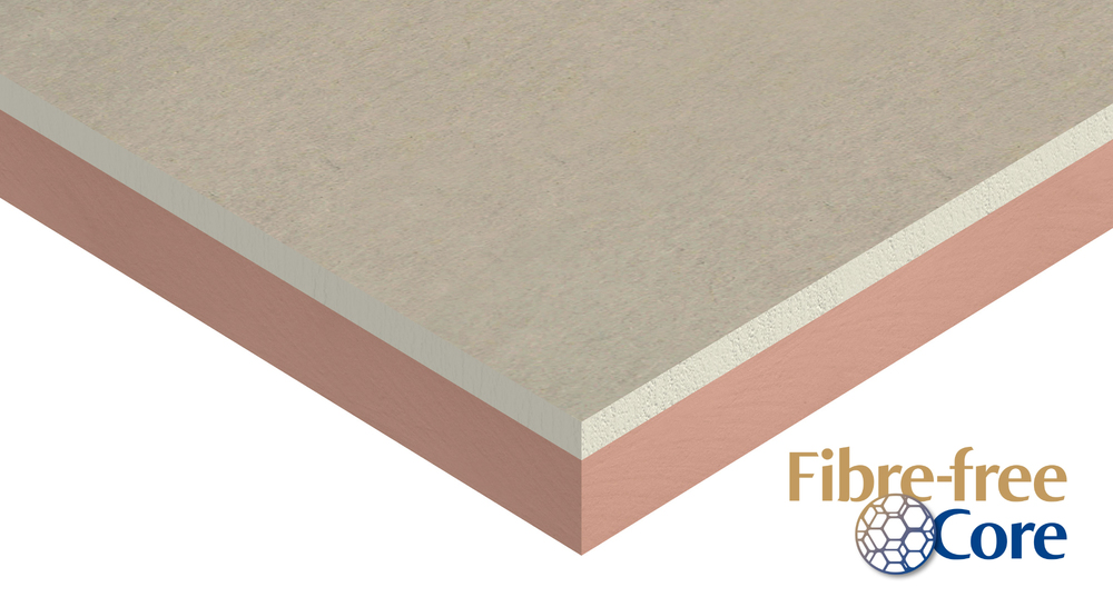Kooltherm K18 Insulated Plasterboard Product Wedge