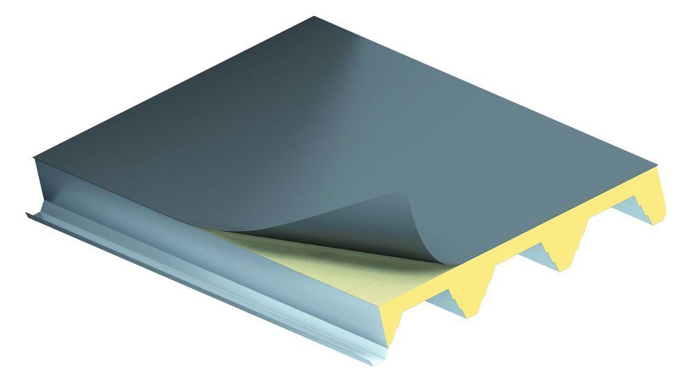 KS1000 X-DEK, velkorozponový panel, střešní panel, zateplení střechy, izolační panel