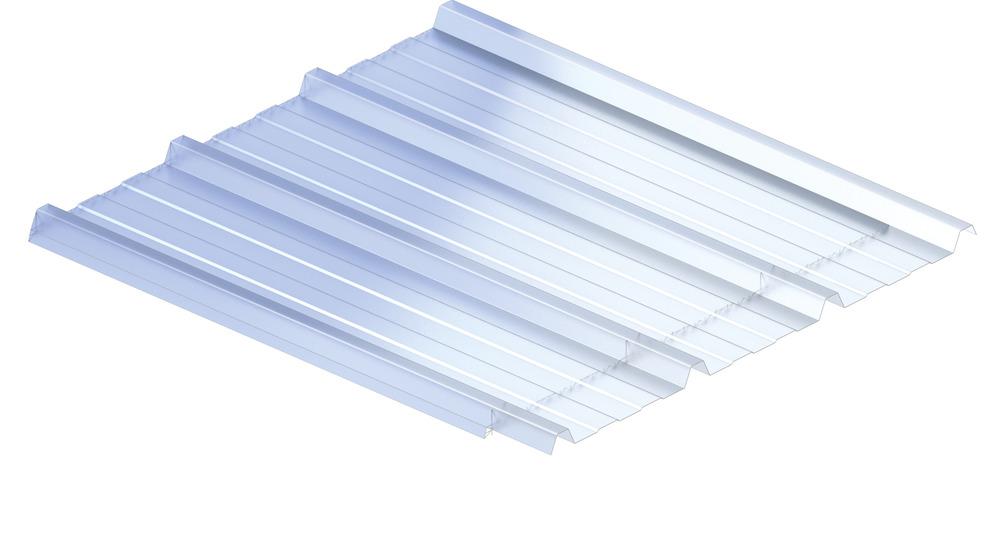 KS1000 PC, PC Double skin, denné svetlo, presvetľovacie panely