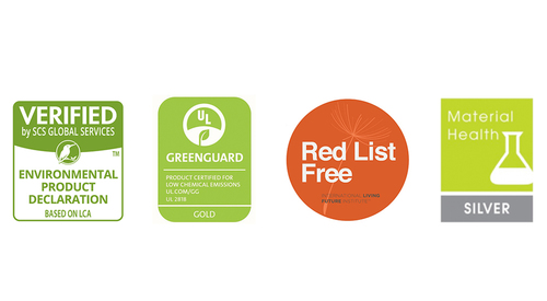 Greenguard_Gold_Red_List_Free_Material_Health_Silver_Certifications_Collage_NA