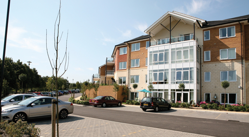 Kingspan Structural Steel Solutions Project - SHENLEY WOOD EXTRA CARE HOUSING UK Image