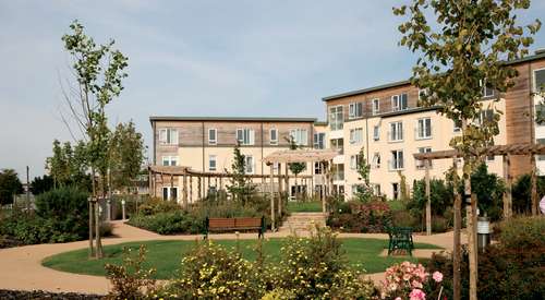 Kingspan Structural Steel Solutionss Project - MEADWAY EXTRA CARE UK Image