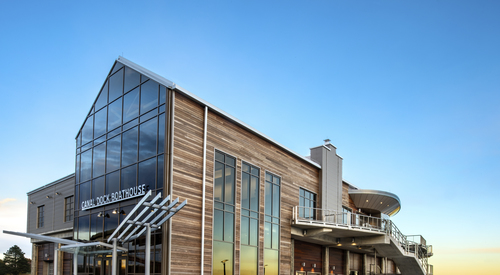 Kingspan Insulated Panel Systems Canal Dock Boathouse New Haven CT Image