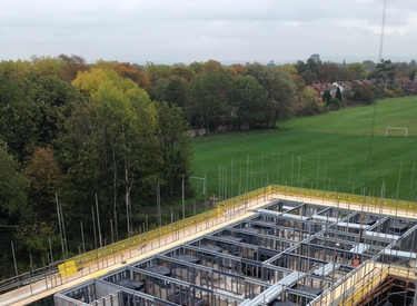 Kingspan Structural Steel Solutions Project - UNSWORTH PARK STUDENT ACCOMMODATION MANCHESTER UK Image